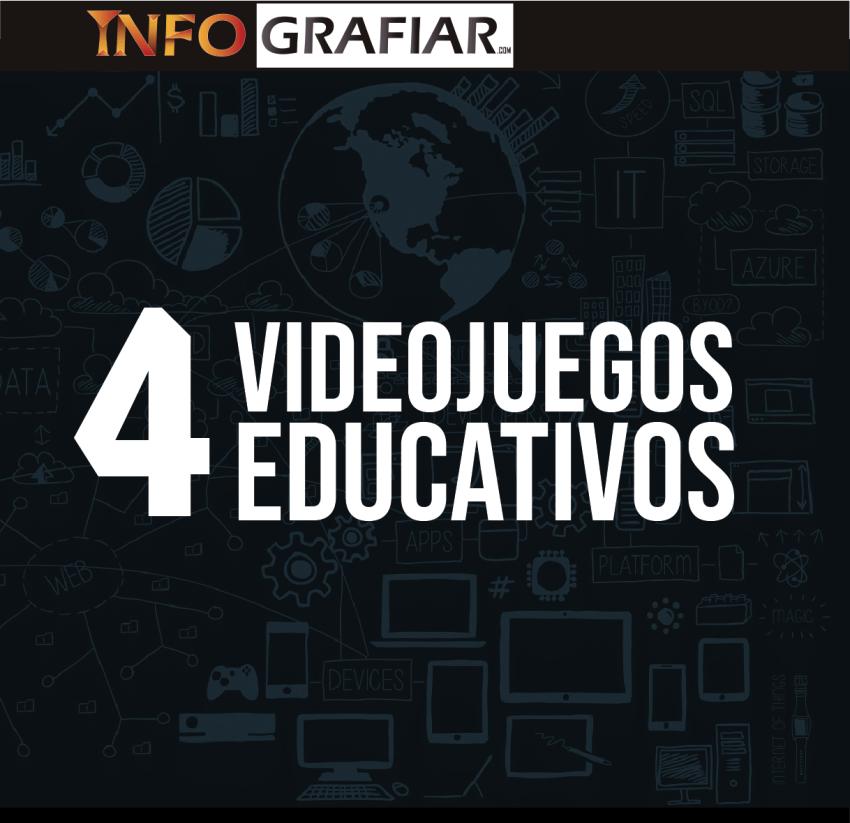 4 Videojuegos educativos