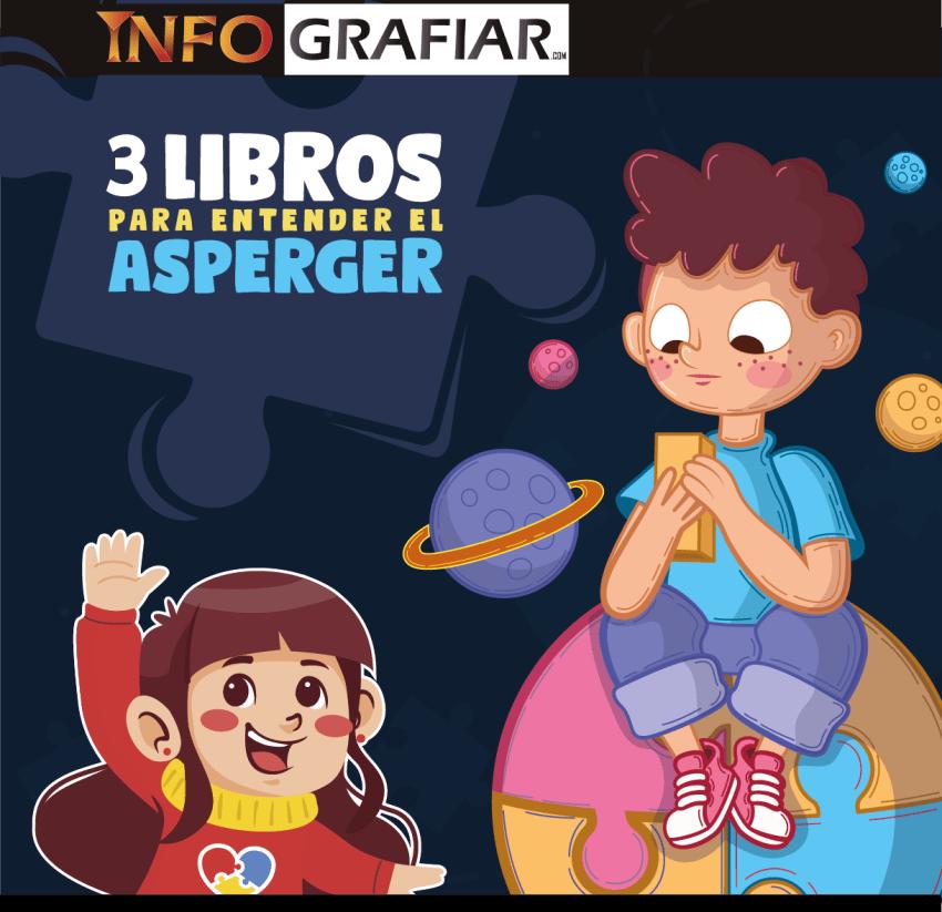 3 libros para entender el Asperger