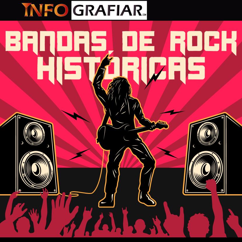 Las 5 mejores bandas que han logrado el éxito en la historia del rock