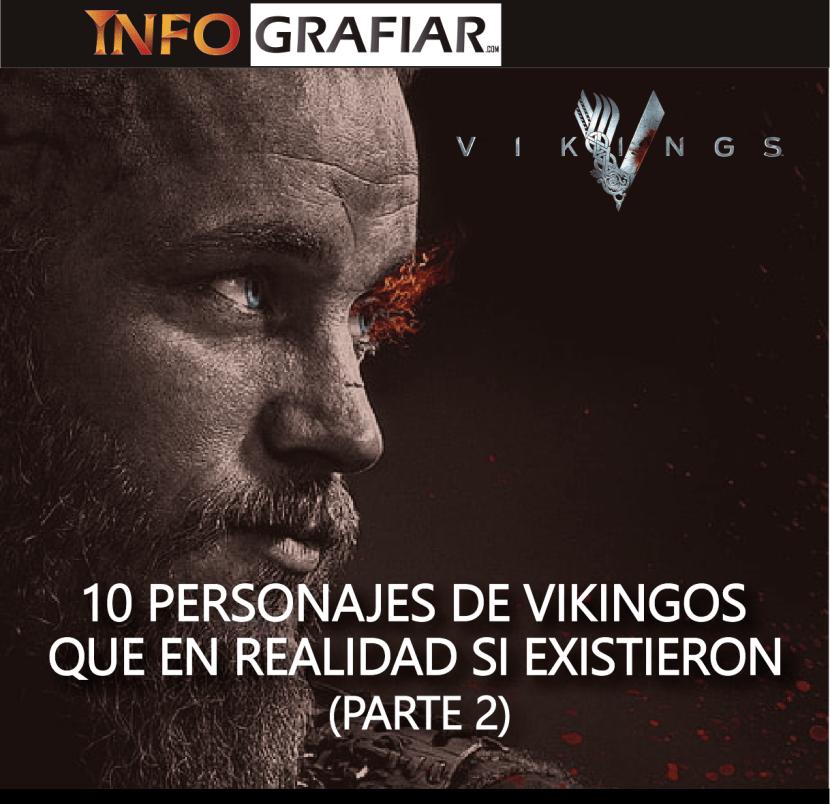 Personajes de Vikingos que si existieron Parte 2