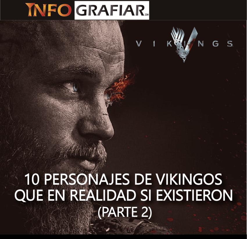 10 personajes de Vikingos que en realidad si existieron (Parte 2)