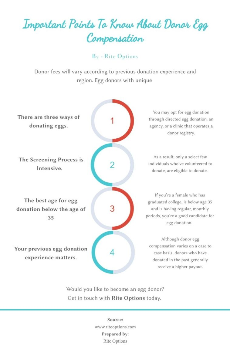 Infographic : Important Points To Know About Donor Egg ...