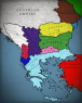 Map Torn Battered Shattered The Balkans In 1933 Fraternite De Rebellion Infographic Tv Number One Infographics Data Data Visualization Source