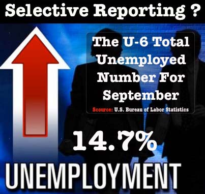 14.7 Percent True Unemployment