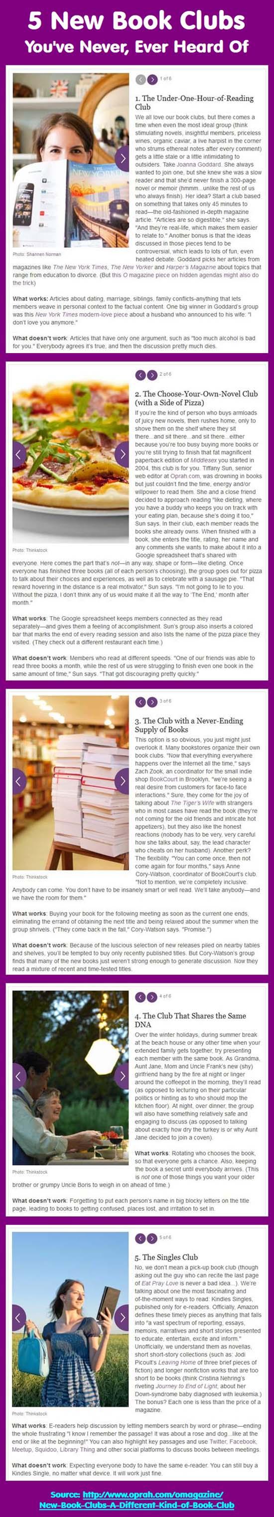 5 book clubs