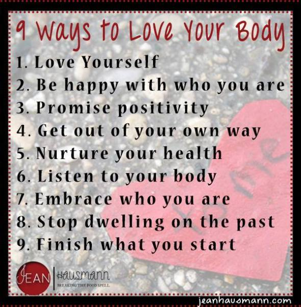 9 Ways to Love Your Body
