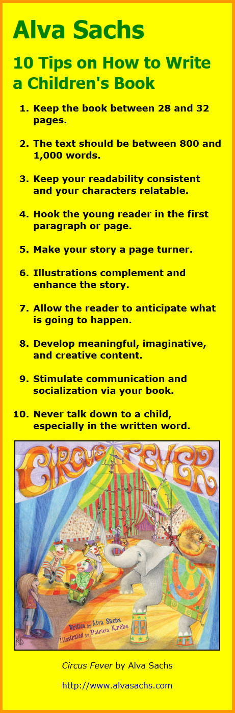 How to Write Children's Books