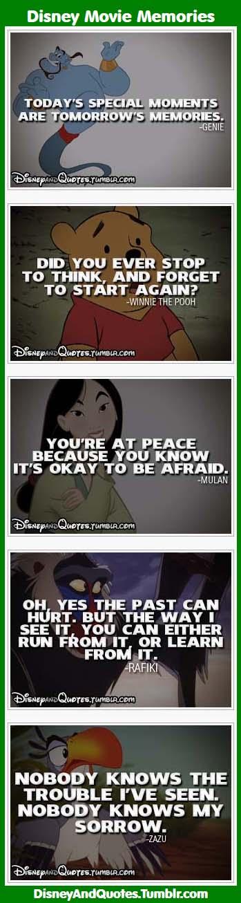Disney Movie Memories