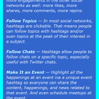 Hashtags: A Tool for Discovery (A Hashtag Infographic)