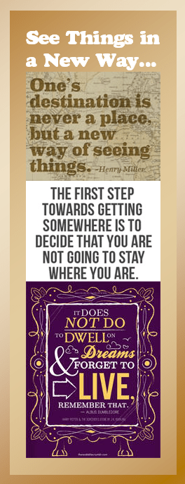 Motivational Bookmark: See Things in a New Way