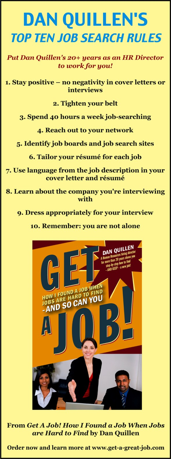Top 10 Job Search Rules