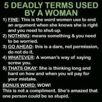 How to Understand Womanspeak: 6 Misleading Words Used by Women