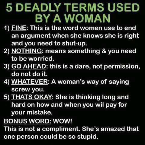 How to Understand Womanspeak