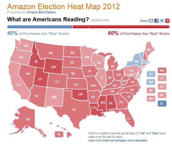 Amazon's Election Heat Map