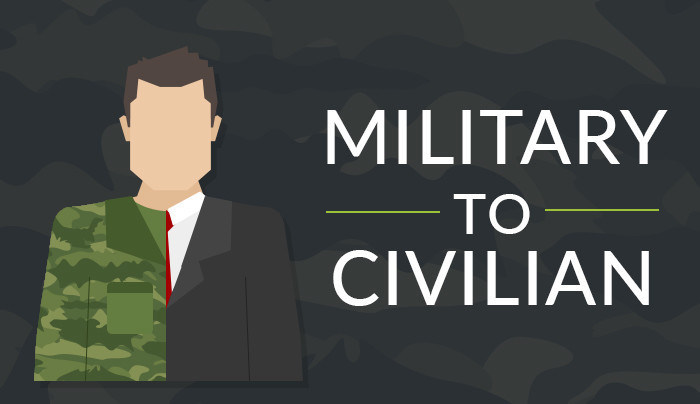 From Military to Civilian Infographic
