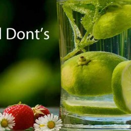 The Dos And Donts Of Detox Infographic