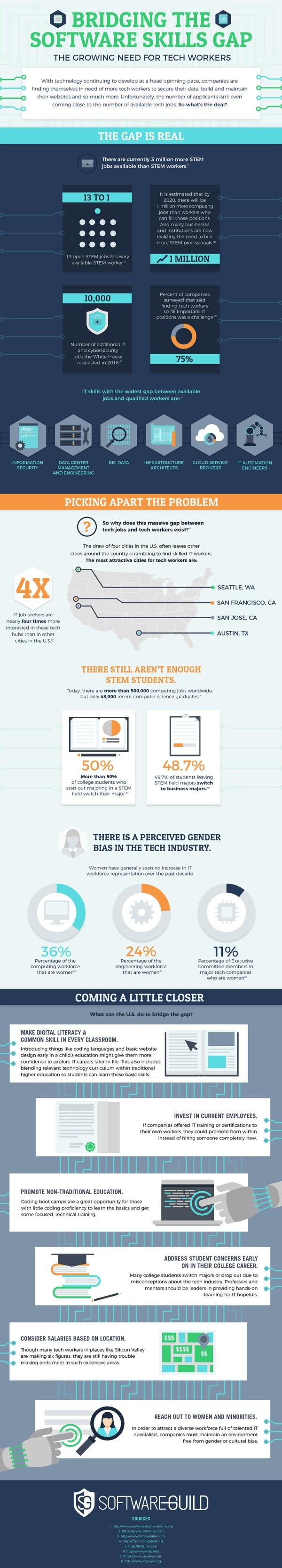 Infographic Software Skills