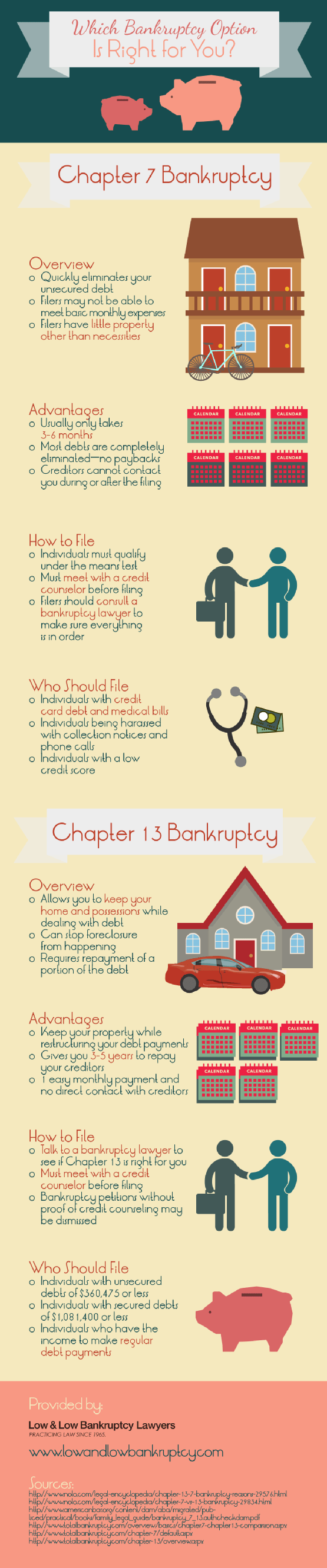 Which Bankruptcy Option Is Right for You