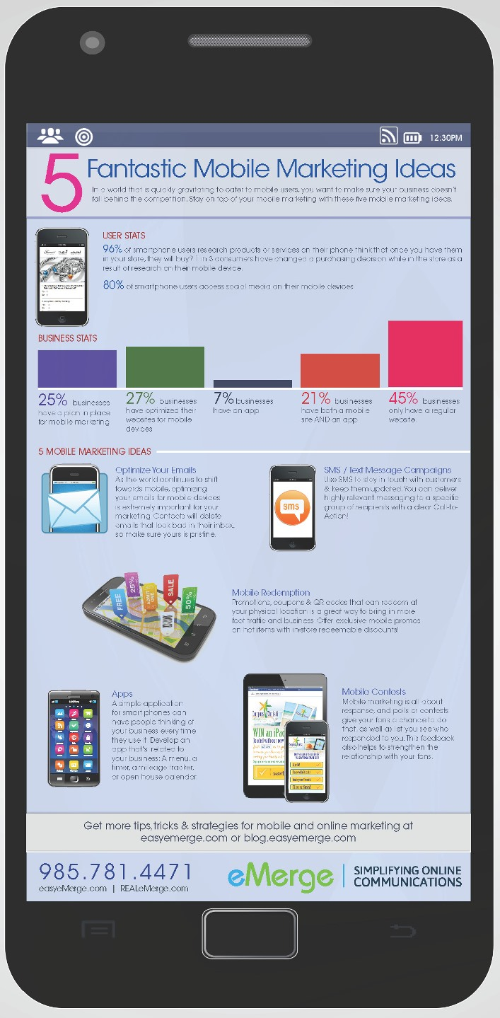 5 Fantastic Mobile Marketing Ideas