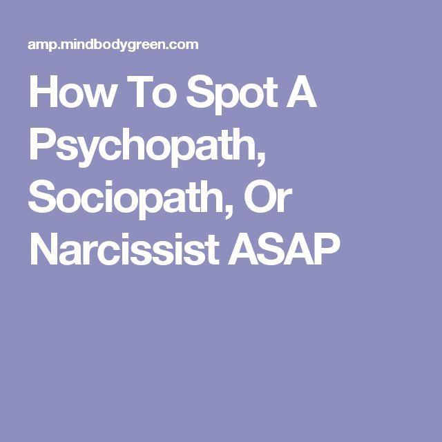 Psychology  Psychology  How To Spot A Psychopath