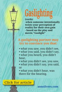 Psychology : What is gaslighting in abusive relationships ...