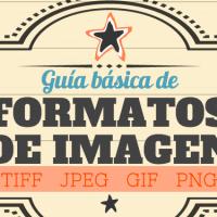 Guía básica de Formatos de Imagen: TIFF, JPEG, GIF y PNG