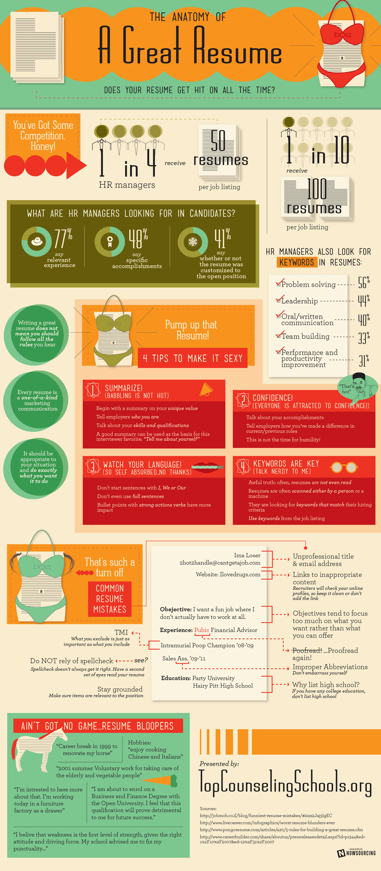 Resume Infographic Effective Resume Writing Tips Infographics Mania
