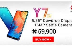 Huawei Y7 Prime Price in Nigeria, Specs and Review