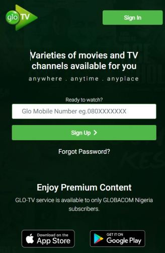 Glo TV Stations