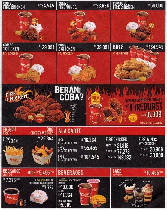 Chicken Hs Richeese : chicken, richeese, Harga, Richeese, Factory, Terbaru, 2021,, Alamat, Gerainya, Lengkap!