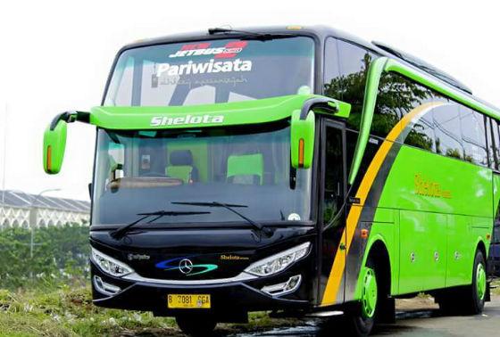 Jasa Rental Bus Pariwisata di Panunggangan Barat Tangerang 2