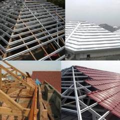 Rangka Baja Ringan Untuk Atap Asbes Biaya Pembuatan Rumah Info Indonesia