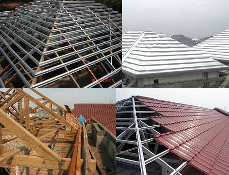 harga atap baja ringan asbes biaya pembuatan rumah info indonesia