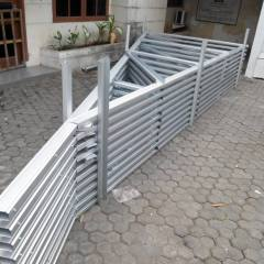 Rangka Baja Ringan Atap Miring Pembangunan Rumah Dengan Info Indonesia