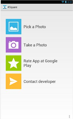 Square a Photo to set it as WhatsApp Profile Picture