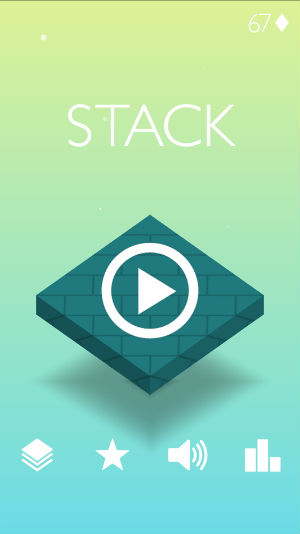 stack simple yet addictive block game