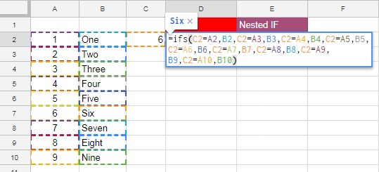 Alternative to Excel Formula Auditing in Google Sheets