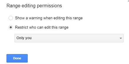change permissions in google sheets