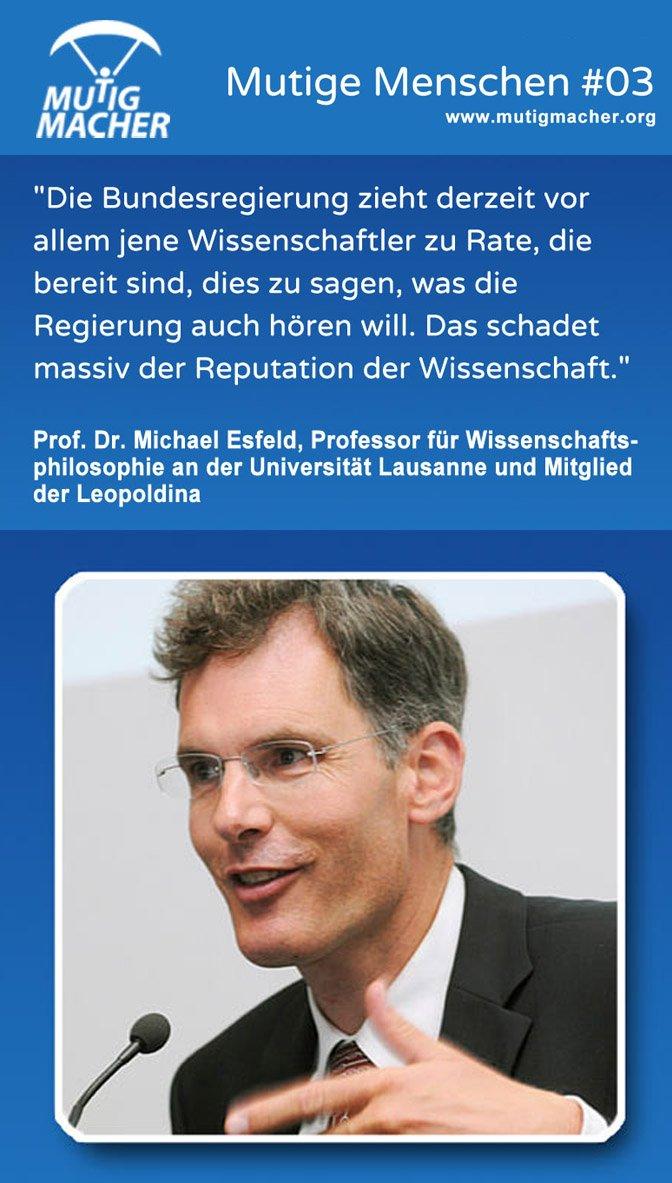 Prof. Dr. Michael Esfeld