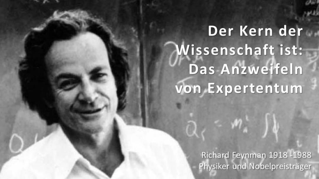 Richard Feynman 1918 -1988, Physiker und Nobelpreisträger