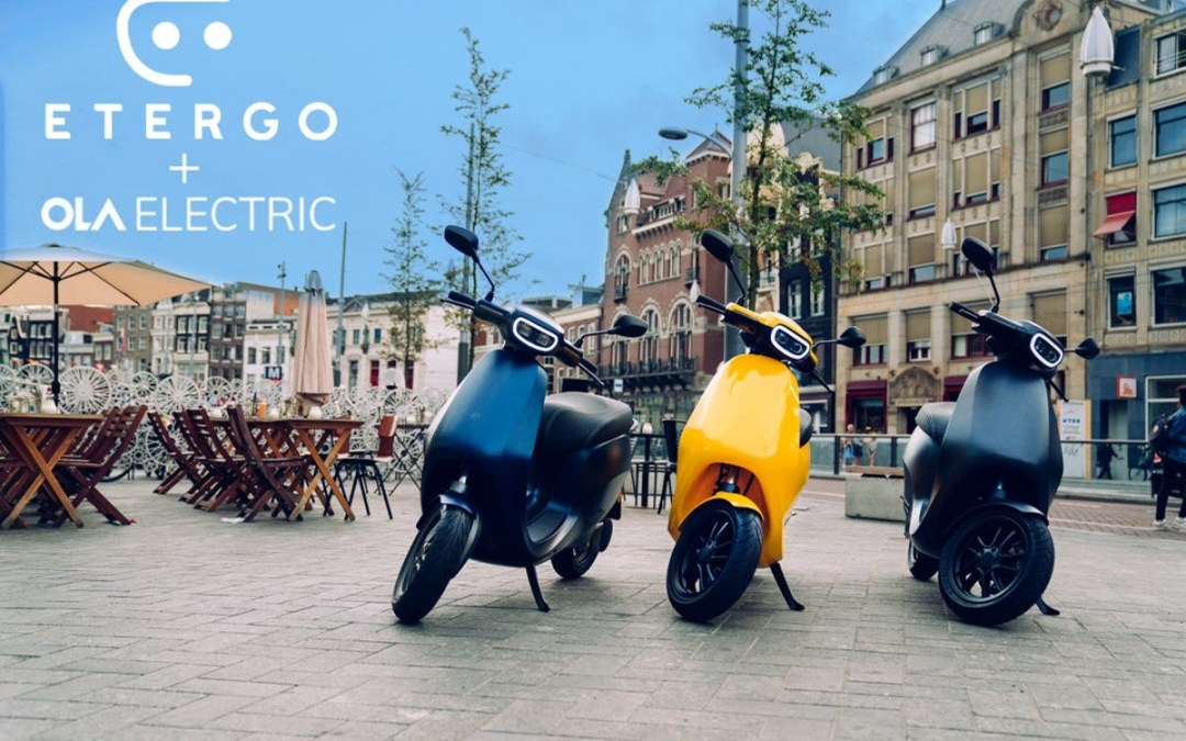 OLA ACQUIRES ETERGO –'The Tesla of two wheelers'