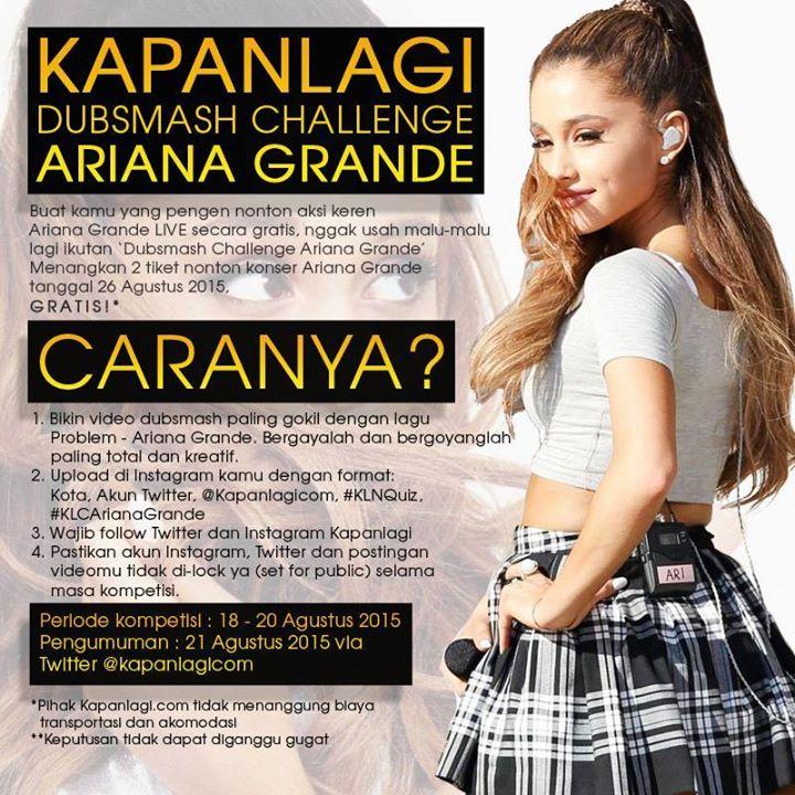 info-kuis-berhadiah-tiket-ariana-grande-indonesia