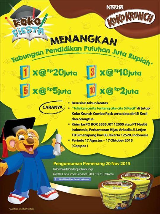 info-kuis-berhadiah-koko-krunch-fiesta-berhadiah-tabungan-pendidikan