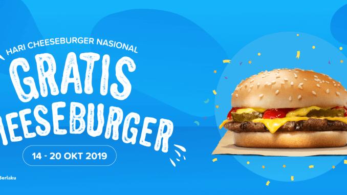 Gratis Cheeseburger Di Burger King Pakai Dana Info Kuis Berhadiah