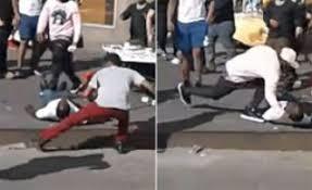 gang assaulted on Souleymane PORGO