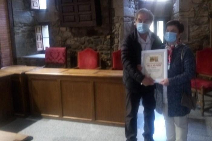 Carmina González Cuesta gana el XII concurso de Balcones Floridos de Potes