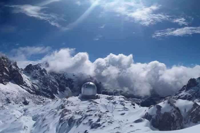 Cabaña Verónica: de cúpula de un portaviones norteamericano a refugio de montaña