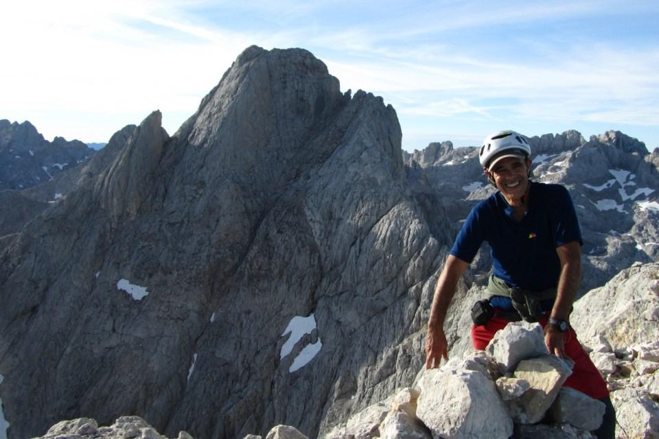"""Antonio Martin, autor de 'Montañismo para entusiastas': """"El montañismo es valorar la montaña como un lugar hermoso que produce emoción"""""""