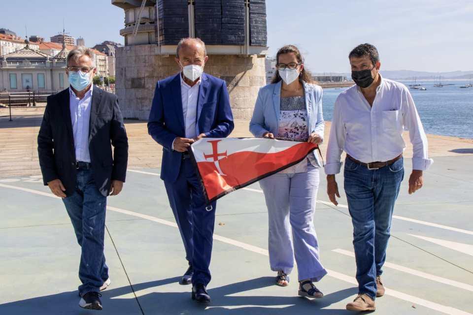 El proyecto 'Mar de Júbilo' recorrerá 581 millas en una trainera que promocionará el Año Jubilar Lebaniego 2023