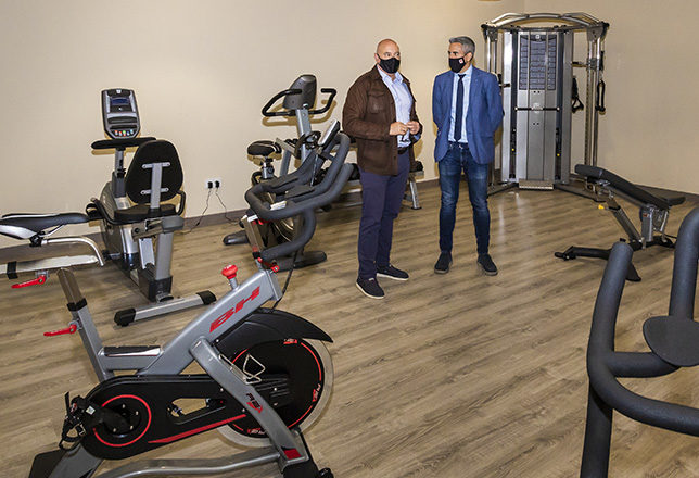 Vicepresidencia invierte cerca de 15.000 euros en el nuevo equipamiento deportivo de Peñarrubia